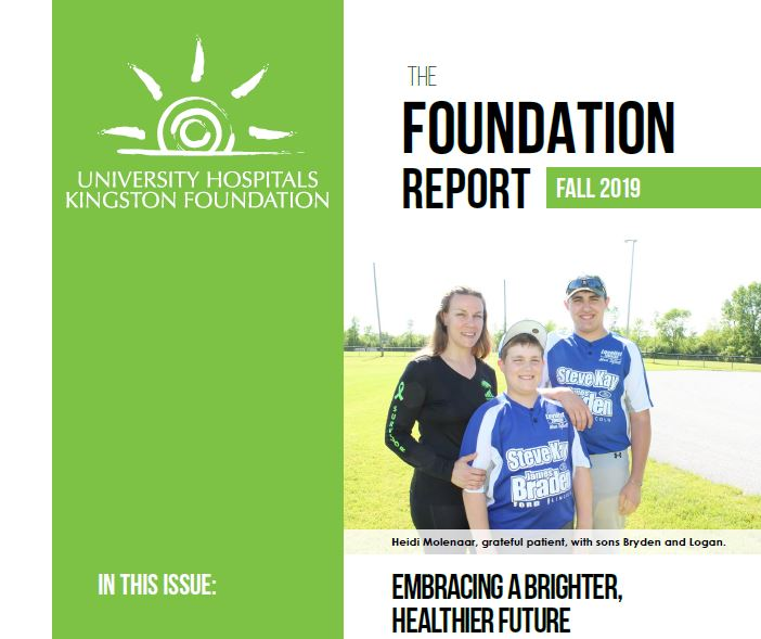 Fall 2019 Foundation Report