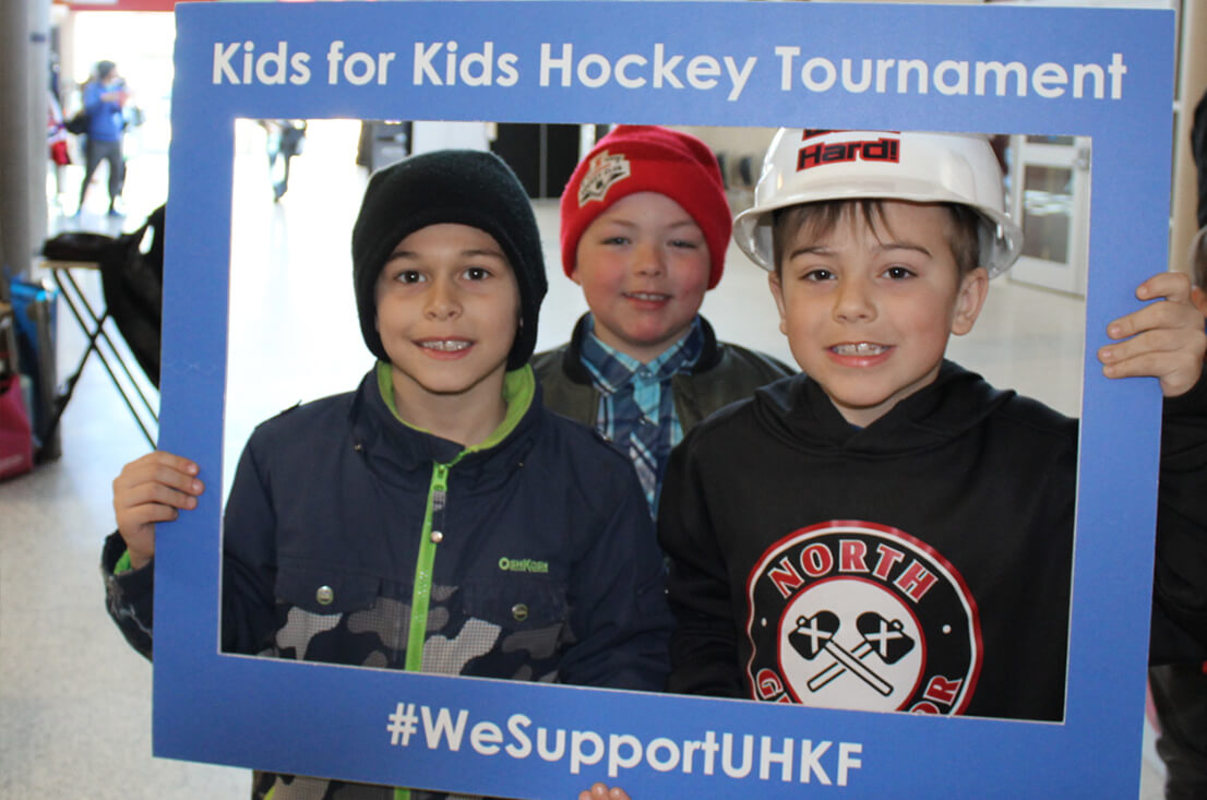 {Kids for Kids} Hockey Tournament Image