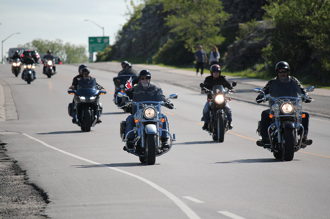 Kingston- Quinte Telus Motorcycle Ride for Dad Image