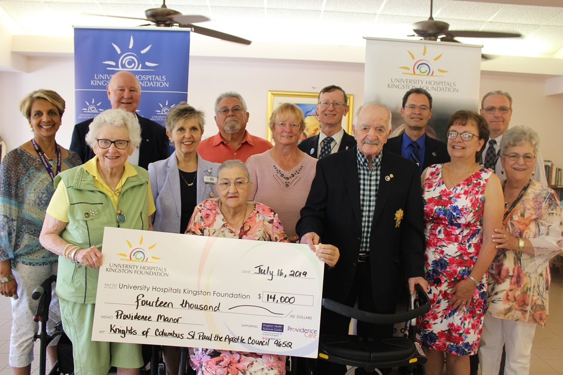 Knights Of Columbus Score Hole in One, Raising $14,000 for Providence Manor Redevelopment Project Image